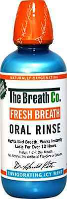 Fresh Breath Oral Rinse Invigorating Icy Mint Fights Dry Sticky Mouth 500 ml