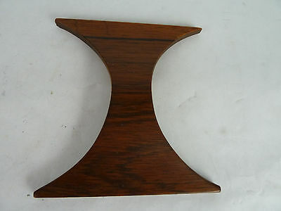 Vintage Brazilia Teak Door Drawer Handle Furniture Part