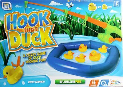 Hook That Duck A Crazy Game of Duck Hooking Fun 2 Players Kids Xmas Fishing Gift
