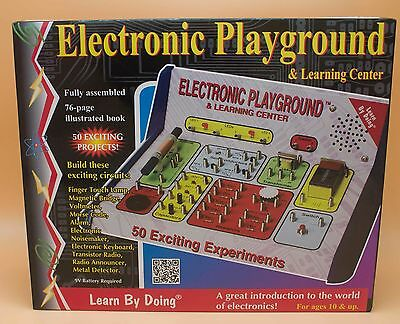 Electronic Playground Science Kit Children Kids Electricity Electric Learning