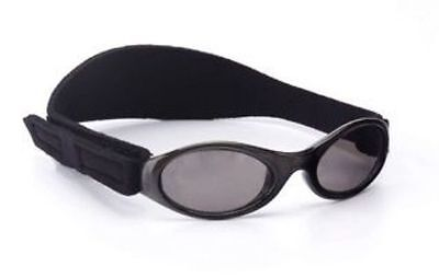 New Baby Banz Adventure Banz Infant Toddler Baby Sunglasses for 0-2 years Black