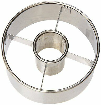 Ateco Stainless Steel Doughnut Cutter 3.5 Inches - 14423