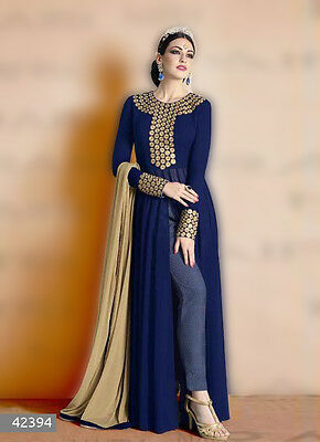 Bollywood StylePakistani Indian designer Traditional Anarkali Salwar Kameez 1062