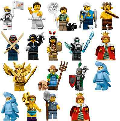 Lego 71011 SERIES 15 MINIFIGURES *choose what you want* shark guy flying warrior