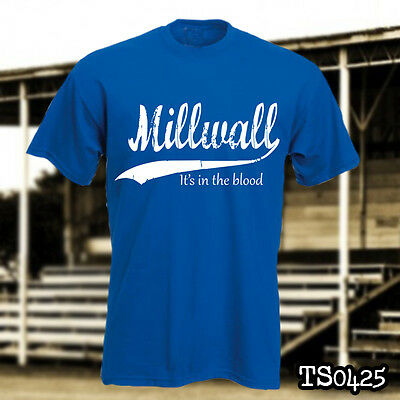 Millwall hooligans - It's in the blood T-shirt