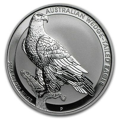 AUSTRALIE 1 Dollar Argent 1 Once Pygargue 2016 1 Oz silver coin Wedge Tailed