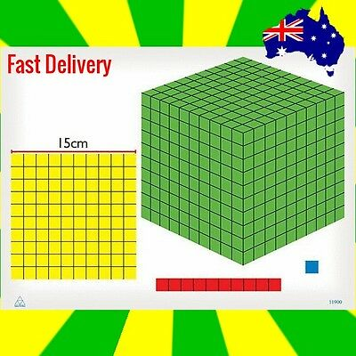 Foam MagneMAB 3D Magnetic (57 piece)  for Learning Place Value