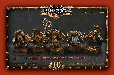 The Dwarves Unit Of Fire Canyon Russian Alternative RESIN