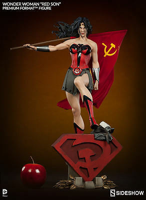 Wonder Woman Red Son Premium Format Sideshow Superman Dc Comics