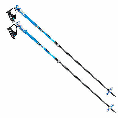 Leki Blue Bird Vario S telescopic ski poles 6366872 110-140cm Unisex NEW
