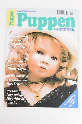 Puppen International Erstausgabe April Mai 1996