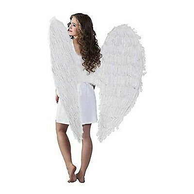 Boland 52803-Angel Feather Wings 120x 120cm White