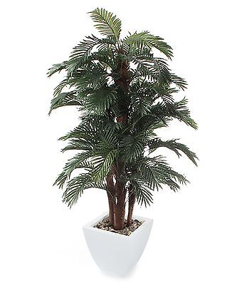 Closer to Nature Artificial 6ft Areca Palm Tree - Artificial Silk Plant and T...