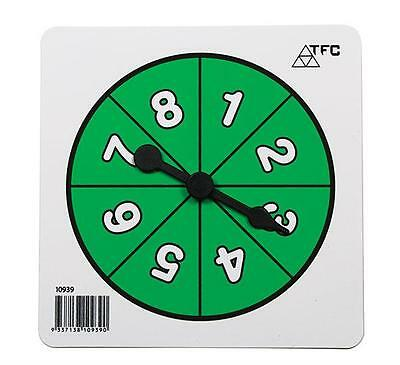 Number 0-9 Spinners 1pk Maths Teacher Resources Games Classroom Learning School