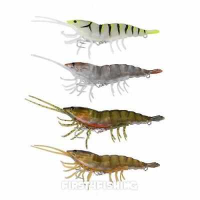 Savage Gear Saltwater 3D Hybrid Shrimp Lures - Bass Wrasse Sea Fishing Tackle