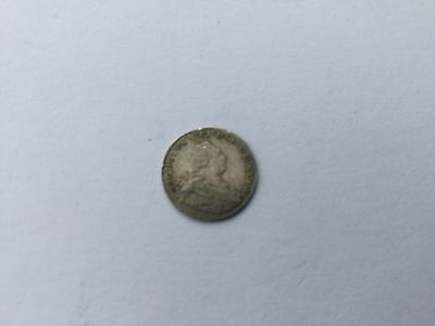 George III Silver Maundy Penny Dated 1800