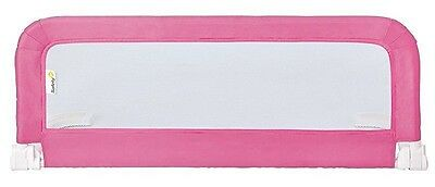 Safety 1st Portable Bed Rail (Pink) Child Sleep Protection Bedroom Home  NEW