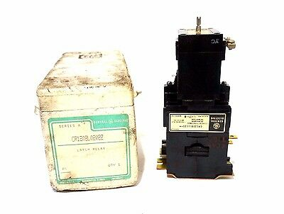 New General Electric  Cr120Bl02022 Latch Relay Ser.a