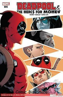 Deadpool And Mercs For Money #5 (2016) 1St Printing (Ongoing) Bagged & Baorded