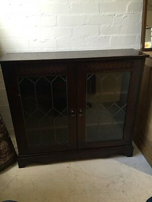 Solid Wood Bookcase / Display Cabinet