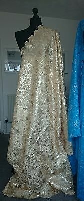 African Fabric Sequins lace for Weddings and Special Occassion sold per yard