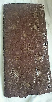 African Fabric Sequins lace for Weddings and Special Occasion sold per yard • EUR 12,07