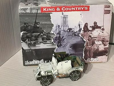 King And Country-Battle Of The Bulge-Us Armoured Jeep(Winter)- BBA50