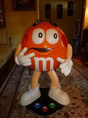 Orange M&M's Candy Store Display 3 Ft. Tall Character