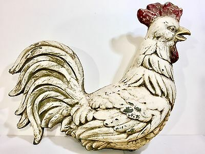 Antique Figural Rooster/Chicken weathervane. Original Paint. Beauty