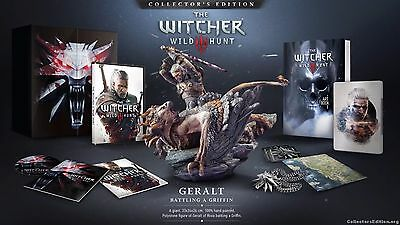 The Witcher III: Wild Hunt Collector's Edition (Computer PCDVD) Brand New SEALED