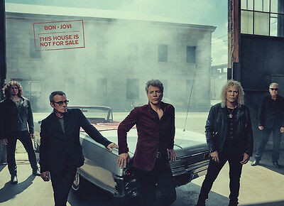 Bon Jovi - This House Is Not For Sale (2016, Korea Promo) POSTER '44 x 62 cm'