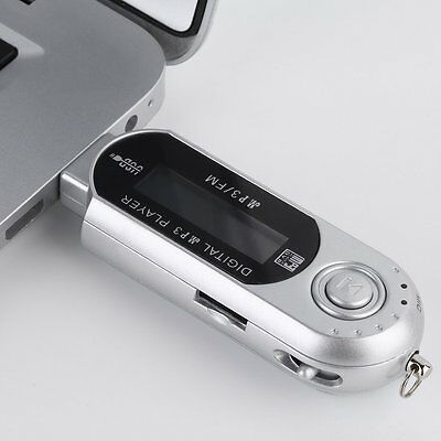 8GB USB 2.0 Flash Drive LCD MP3 Music Player With FM Radio Voice Recorder P6#