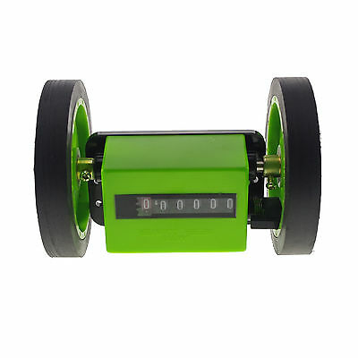 Mechanical Length Counter Meter Counter With 2 Rolling Wheels