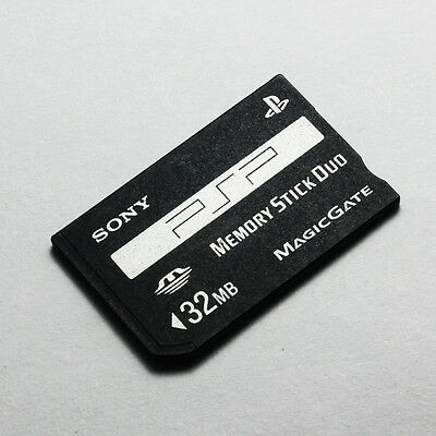 Sony 32MB Memory Stick Duo MS Card Non-PRO for Sony PSP and Old Cameras,PSP-M32