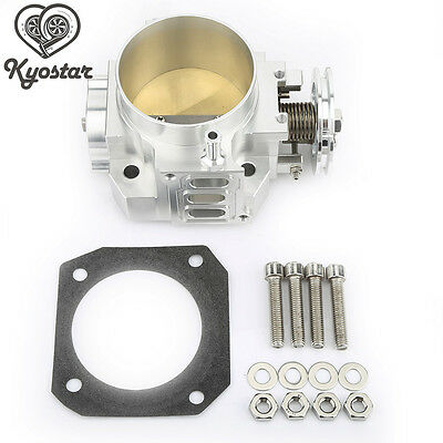 Aluminum 70mm Throttle Body For Integra RSX DC5 CIVIC SI EP3 K20 K20A K-Series