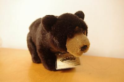 BLACK BEAR- Webkinz Signature Deluxe- WITH CODE- New! Ganz