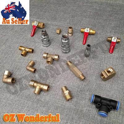 17Pcs Socket Air Hose Barb Nitto Style Fittings Fitting Coupler Air Compressor