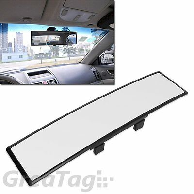 Auto Car 300Mm Wide Convex Curve Interior Clip On Panoramic Rear View Mirror Jdm