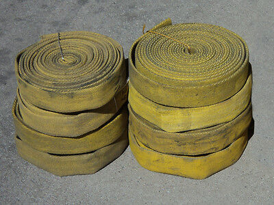 """Firehose 12 ft, 1.75"""" wide, 1"""" ID, boat dock bumper, rope line chafe guard"""