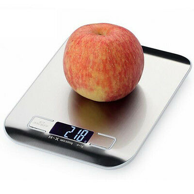 New 10KG/1G Digital Kitchen Weight Scale LCD Electronic Diet Food Device UK