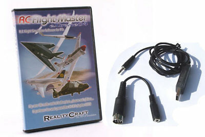 RealityCraft RC Flight Master Extreme 64 Simulator and USB Cable