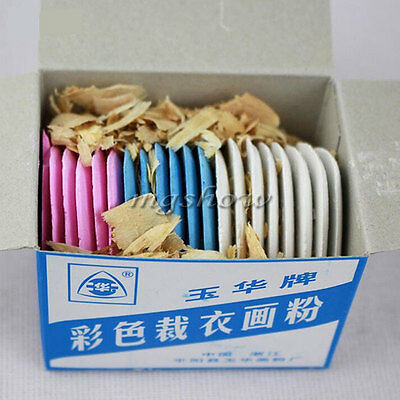 Assorted Tailor's Fabric Chalk Dressmaker's Pattern Marking Chalk Sewing  20 PCS