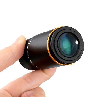 "1.25"" Ultra Wide 6MM 66° Eyepiece Multi-coated Lenses for Astronomy Telescope US"