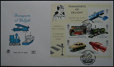 Unaddressed FDC Transports of Delight
