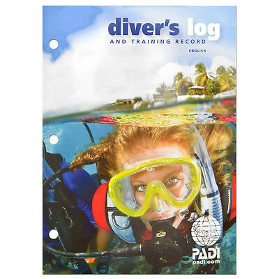 Padi Dive Log Book With Training Record. Newest Version 70047