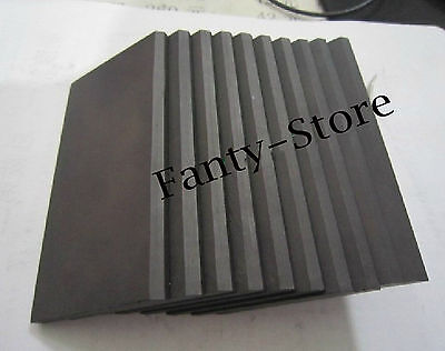 1pcs High Purity 99.99% Graphite Rectangle Plate Sheet 300*200*15mm #U6P-15