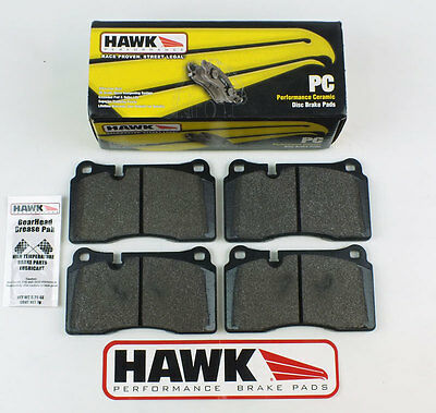 Aston Martin DB9 & V8 Vantage Front Low Dust Hawk Performance Ceramic Brake Pads