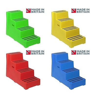 4 STEP PREMIUM MOUNTING BLOCK IN CHOICE OF 5 COLOURS