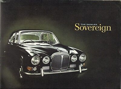 Daimler Sovereign 420 1967-69 UK Market Sales Brochure
