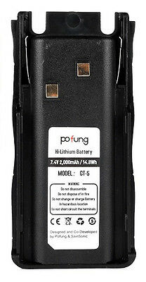 Baofeng (Pofung) GT-5 Replacement Battery